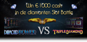 Diamanten Slot Battle week bij Casino777
