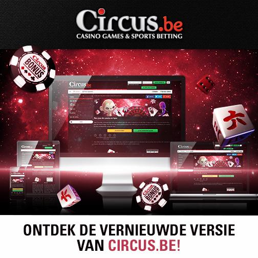 Nieuwe responsive website voor Circus