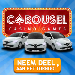 Win een Renault Clio bij Carousel casino