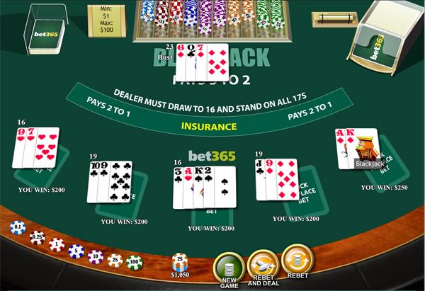 Online blackjack, hoe werkt het