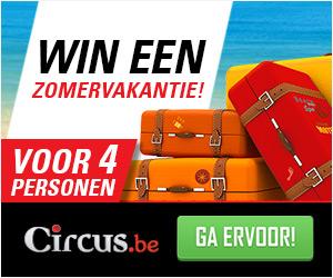 Win een vakantiecheque bij Circus Casino