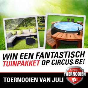 Topprijzen te winnen bij circus.be