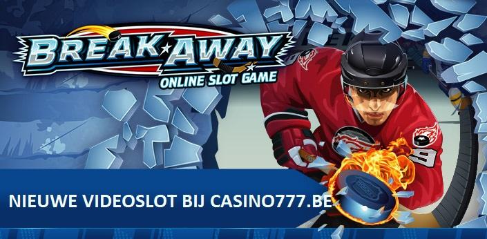 Nieuwe Break Away videoslot bij Casino777