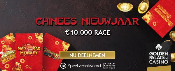 Golden Palace verdeeld €10.000 tijdens actie Chinees Nieuwjaar!