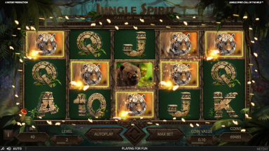 Jungle Spirit Butterfly Boost feature