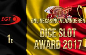 1e plaats Dice Slot Award 2017