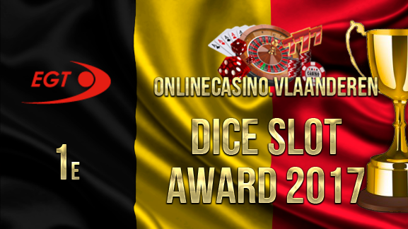 1e plaats Dice Slot Award 2017