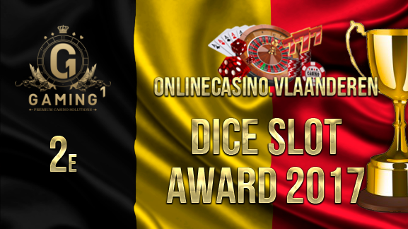 2e plaats Dice Slot Award 2017