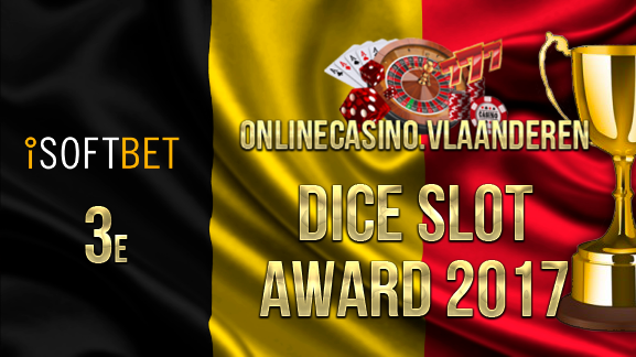 3e plaats Dice Slot Award 2017