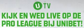 Kijk en wed op de Jupiler Pro League bij Unibet
