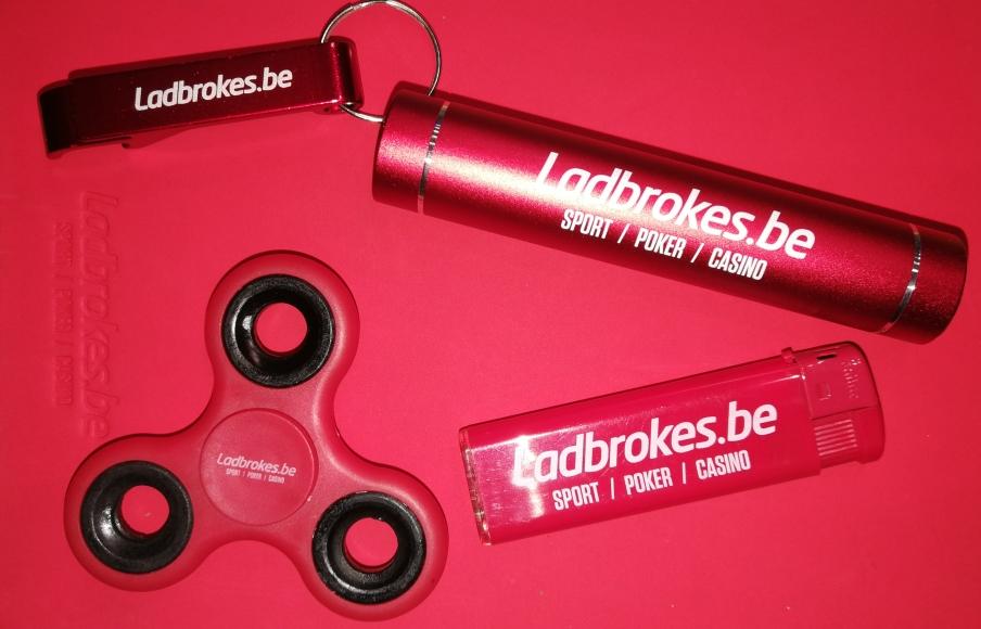 Maak kans op leuke Ladbrokes.be goodies