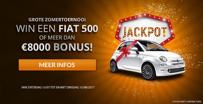 Win een auto tijdens het Summer Toernooi van Magicwins.be