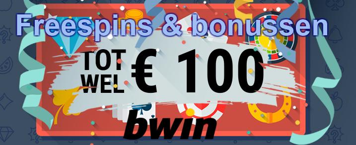 Free spins en extra bonussen bij Bwin Casino België