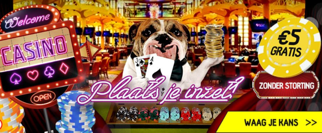 Ontvang 5 euro gratis bij Betfirst casino