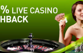 Maak kans op €50,- tijdens het cashback weekend van Casino777.be