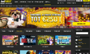 5 euro gratis bij betfirst casino