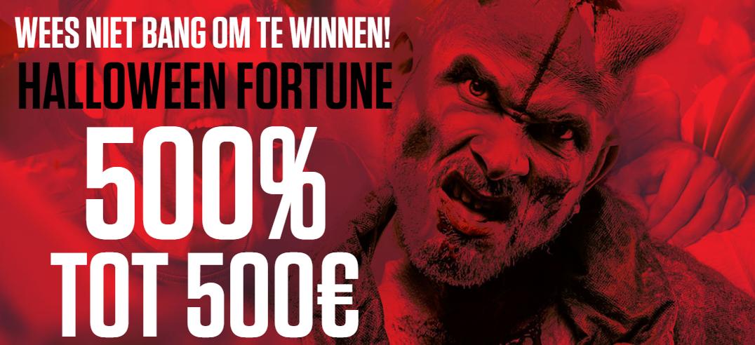 Halloween Fortune bij Ladbrokes.be welkomstbonus 500%
