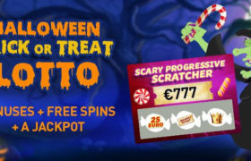 Halloween Trick or Treat lotto bij Casino777