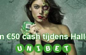 Verdien €50 cash met Blackjack tijdens Halloween