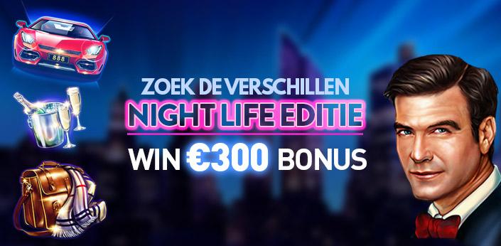 Zoek de verschillen bij Casino777 en win €300,- bonusgeld