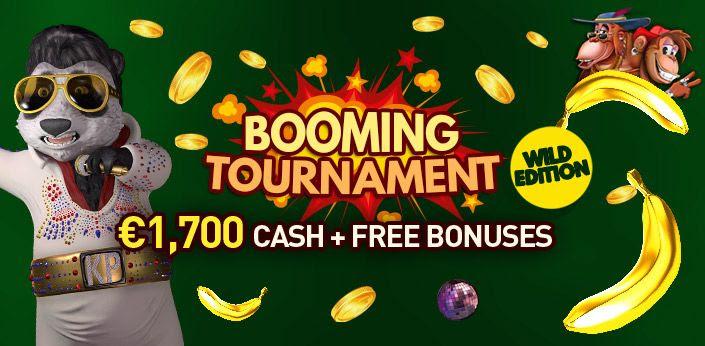 Booming Toernooi bij Casino777.be win cashprijzen en gratis bonussen