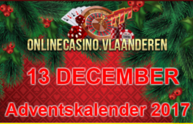 Adventskalender promoties 13 december 2017