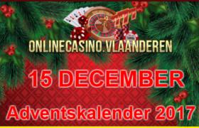 Adventskalender promoties 15 december 2017