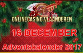 Adventskalender promoties 16 december 2017