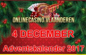 Adventskalender promoties 4 december 2017