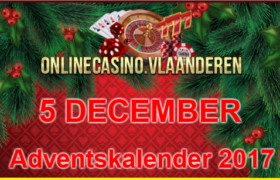 Adventskalender promoties 5 december 2017
