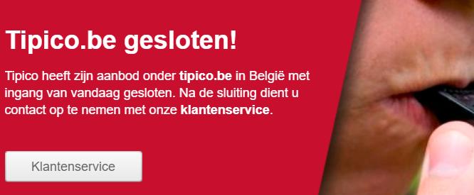 Bet90 en Tipico zijn onverwachts gestopt in België
