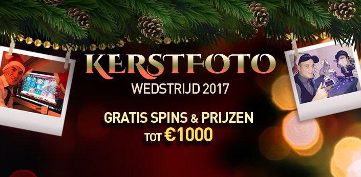 kerstfotowedstrijd bij Casino777 - Win met je foto!