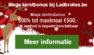 Mega kerstpromotie bij Ladbrokes.be