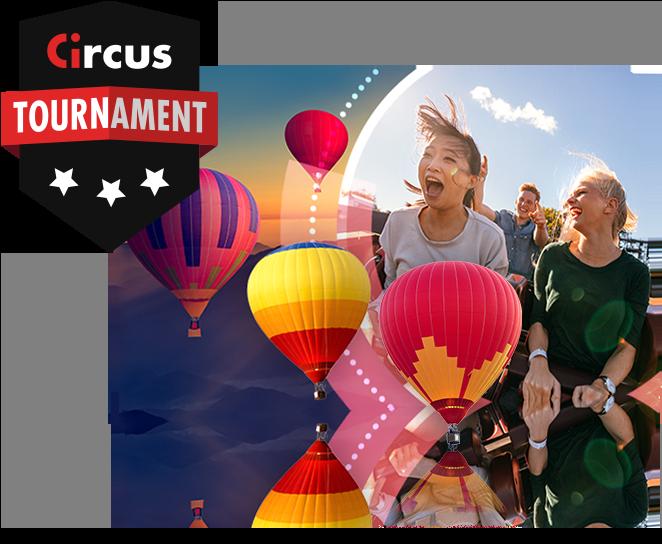 Win mooie prijzen tijdens het april toernooi op Circus.be