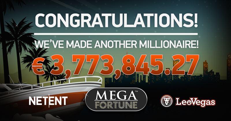 Speler win 3.7 miljoen euro met de NetEnt's Mega Fortune videoslot