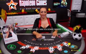Live dealer casino Napoleon Games